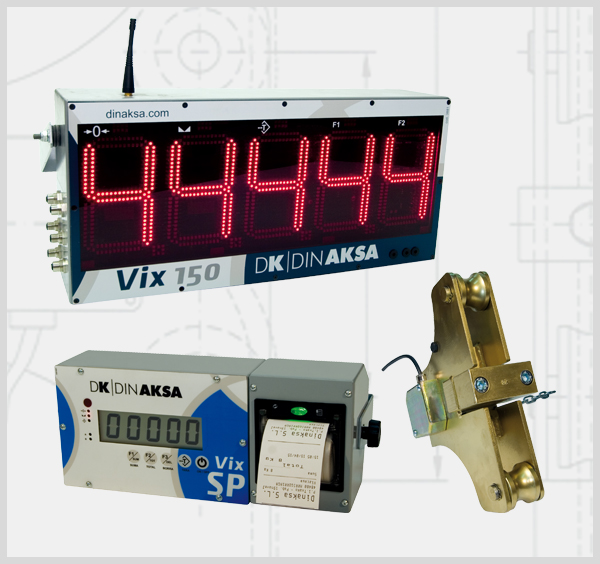 load limiters for crane scales and weight indicators for cranes